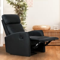 Brand New Manual PU Leather Recliner Kitchener