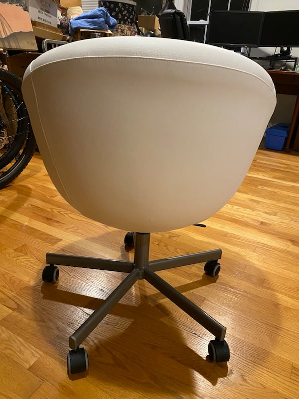 Ikea white swivel chair $100 OBO 2