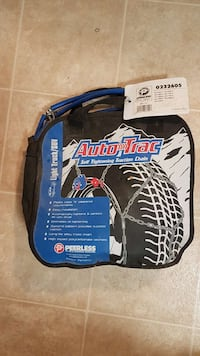 Light truck/SUV tire chains. 2665 km