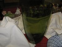 large green glass vase Beltsville