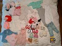 52 Baby items ( 0-12 months clothes, sleepsacks,shoes & more) Ottawa, K2G 3A4