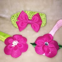 Pink and green floral headbands Palm Bay, 32907