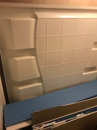 Tub insert for bathroom remodel
