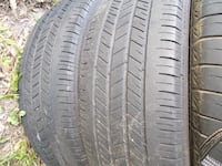 Four 215/70/15 Goodyear Integrity tires with 40-45% tread including installation  Winston-Salem