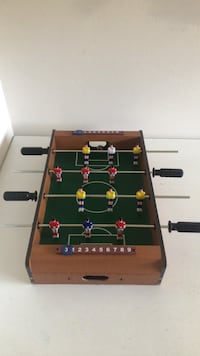 Wooden fusball table (small, for kids)