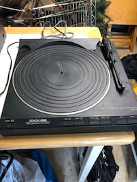 Denon Direct Drive Turntable  Mount Holly, 08060