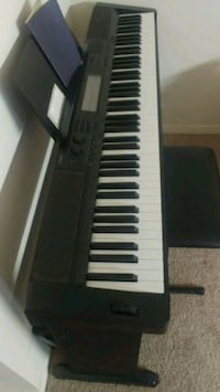 Casio hammered action weighed keys
