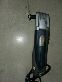 black and gray corded angle grinder Helmetta, 08828
