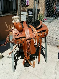 brown and red rocking horse Los Angeles, 90001