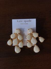 Kate Spade ivory earrings