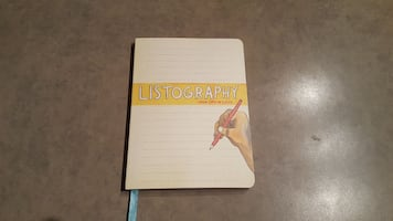Listography Journal: Your Life in Lists
