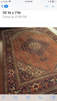 Wool hand made rug Vaughan, L4J 8R3
