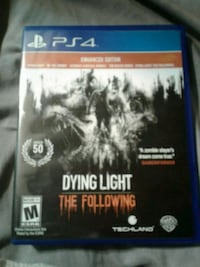 Dying Light PS4 game case Hiram, 30141