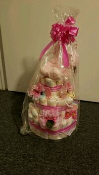 Baby shower diaper cake Mississauga, L5N