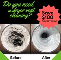 Dryer vent cleaning service. Don't catch fire!! Springfield, 22153