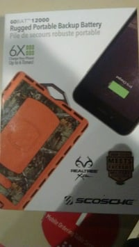 RealTree/ScoSche Extra Rugged 12,000 mAh Power Ban Edmonton, T5L 5G8