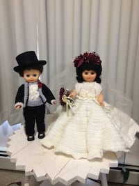 Hand made wedding dolls knitted outfits   Port Moody, V3H 1L7