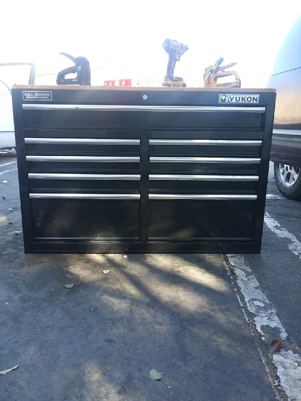 Used Blck Yukon 46 9 Drawer Mobile Workbench For Sale In Los