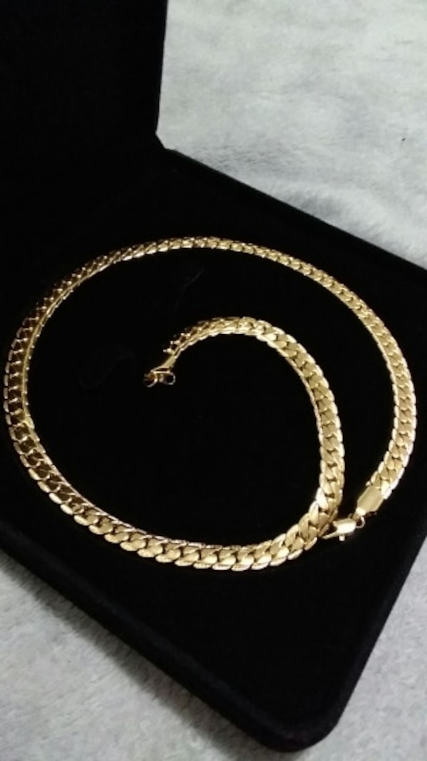 18K Gold PVD Plated Miami Cuban Chain