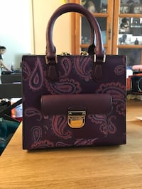 Michael Kors limited edition purple shoulder bag