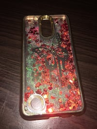 Pink and multicolored floral liquid Android case  Lewisville, 75067