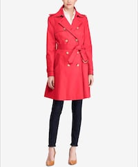 Women / Coats Lauren Ralph Lauren Double-Breasted Trench Coat - size M