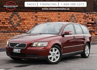 2007 Volvo V50 Wagon 2.4L | No Accidents | Certified Toronto