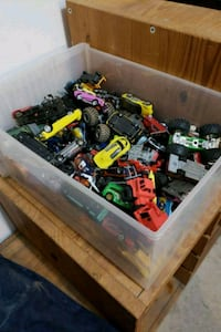 Approximately a 180 mostly hot wheel cars