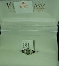 10k gold emerald and diamond ring New Tecumseth