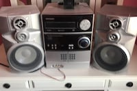 Stereo system with cd and cassette  Hampstead, 21074