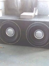 Power Acoustik Gothic 12 in dual voice coil Subs Evansville, 47715
