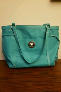 women's teal leather tote bag San Leandro, 94577