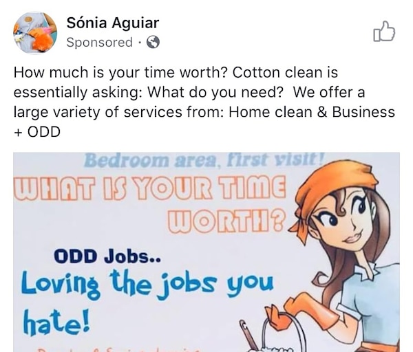"""Used Odd jobs with """" www cottonclean cf for sale in Franklin"""