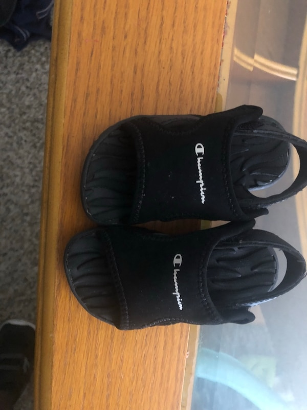 e38d57a6bc61f Used Toddler Champion Sandals Size 5 for sale in Garland - letgo
