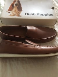 Pair of brown leather loafers Toronto, M5A 1X4