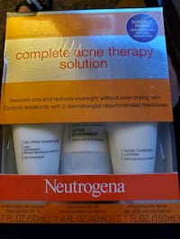 Neutrogena complete acne therapy solution