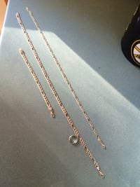 sterling silver chains and bracelet Everett, 02149