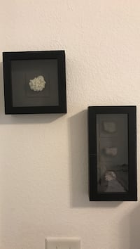 Crystal Geodes in shadow boxes Fresno, 93720