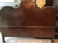 100 year old wooden headboard full size Mc Lean, 22101