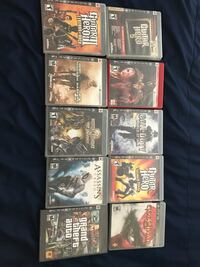 six assorted Sony PS4 game cases Murrieta, 92563