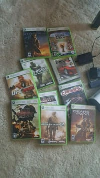 assorted Xbox 360 game cases Fairport, 14450