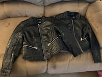 Two Girls Leather Jackets size 10 Fredericksburg, 22407
