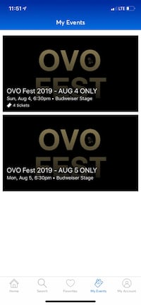 OVO Fest 2019 2 day ticket package  Toronto, M1K 0A4