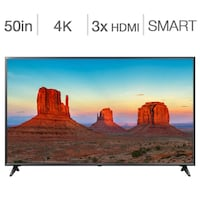 "LG 50"" 4K UHD HDR LED webOS 4.0 Smart TV Brampton"
