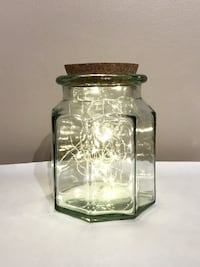 New - 2 glass jars - lights not included  Toronto, M6S 3N4