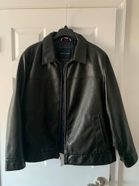 2x Black Faux Leather Jacket , Never worn just tried on ...