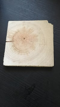 Coaster made from reclaimed wood Vancouver, V5T 1W1