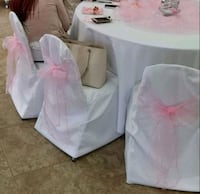50 White Banquet Chair Covers Phoenix, 85009