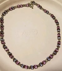 Necklace and Earings, mixed purples Sun Valley, 89433