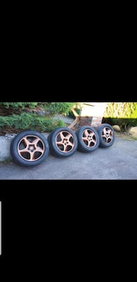 Rims and tires for a Volvo 850  Coquitlam, V3K 5M4